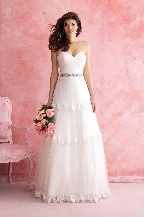 Mejores 266 imágenes de Weddings | Brides en Pinterest | Vestidos de ...