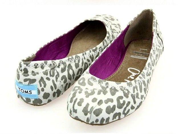 toms gisele grey canvas ballet flats toms outlet shoes