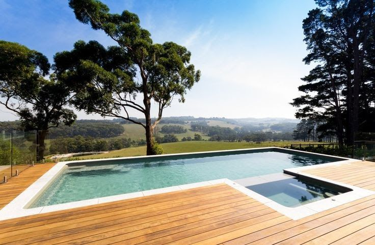 View Our Stunning Collection Of Images Of Fibreglass Installations Done By Our Dealers All Over Australia Great Glass Pool Fencing Glass Pool Fiberglass Pools
