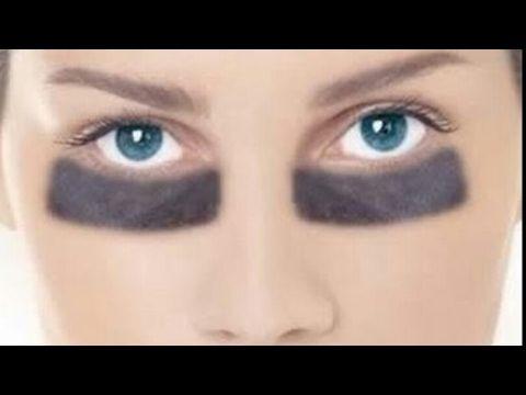 Como aclarar las ojeras oscuras y eliminar las bolsas de ojos/ fácil y efectivo. - YouTube