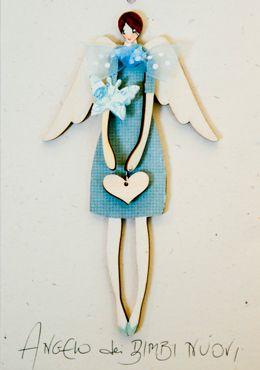 A.BIMBO.MINI - Angelo dei BIMBI NUOVI / Angeli dei Bimbi e dei Ragazzi / Angeli / Catalogo / OcaBianca