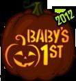 Pumpkin Carving Patterns and Stencils - Zombie Pumpkins! - Baby's 1st pumpkin pattern
