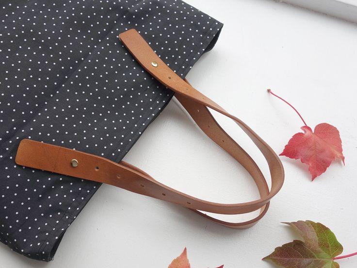 DIY // Taschenhenkel aus Leder