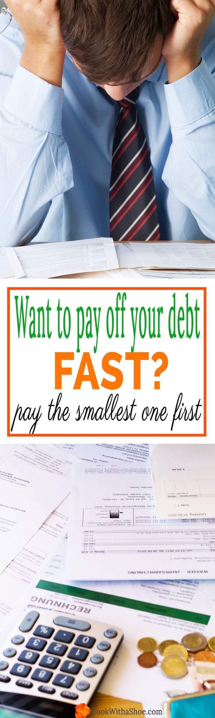 how to pay off debt fast | debt snowball | which debt do I pay first | highest interest debt vs smallest debt first | debt free | paying off debt | pay off debt fast | budgeting | Cook With a Shoe