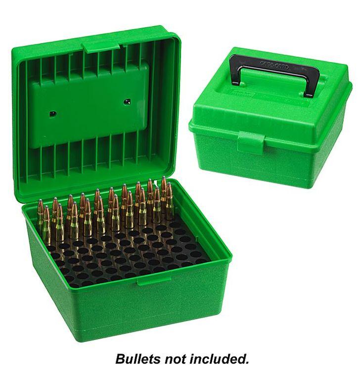 MTM Case-Gard Deluxe Shotshell Case 100 Round Ammo Box