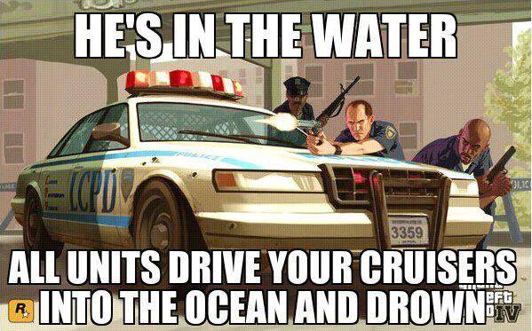 Grand Theft Auto Humor