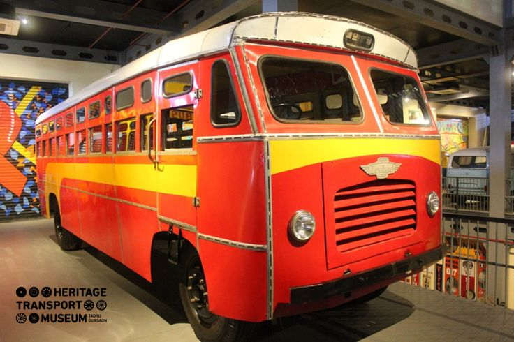 Here's for you an Ashok Leyland Comet Bus of 1962! The rugged design of this bus enabled good performance due to its tough chassis.