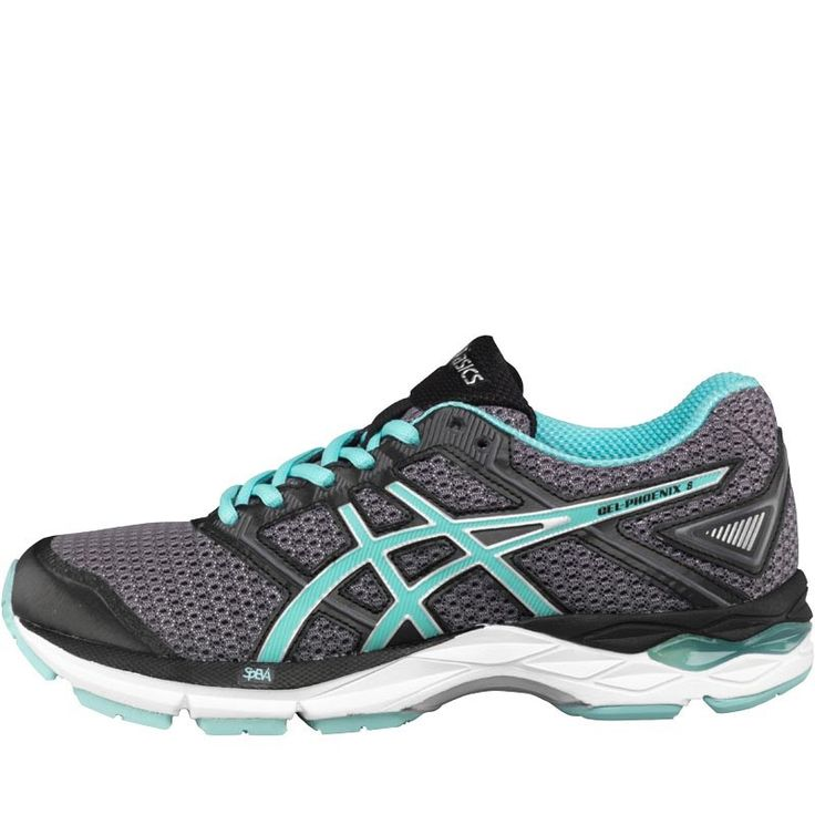 ASICS Womens Gel Phoenix 8 Stability Running Asics comfortable lace-up running trainers with visible rearfoot Gel system. http://www.MightGet.com/february-2017-2/asics-womens-gel-phoenix-8-stability-running.asp