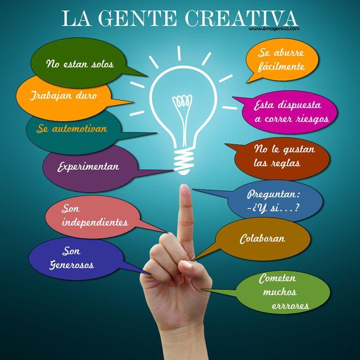 Píntate De Optimismo Y Creatividad: La Creatividad Es La Base De Un Emprendedor. Cómo Saber Si