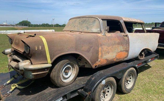 Shed Find 1957 Chevrolet Nomad Chevrolet Nomad