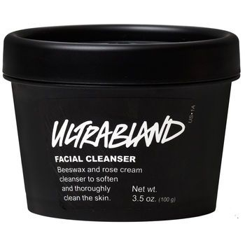 Ultrabland is a thick, rich emulsion of essential oils, honey and beeswax to take off any make up or residue that has built up on your face through out the day.
