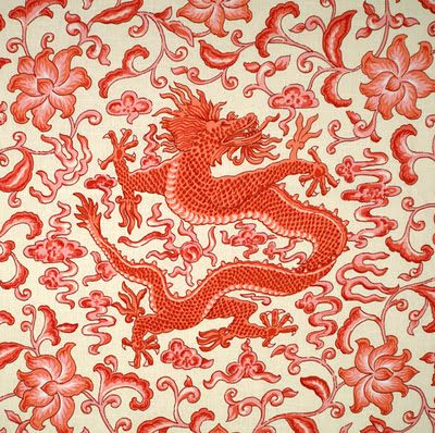 Chinoiserie Chic: Scalamandre for Under Ten Dollars!!!!!!