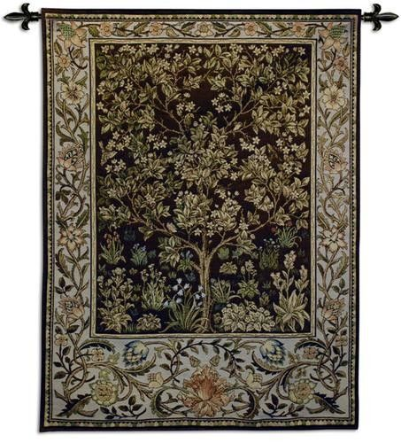 Living Room Rugs Found it at Wayfair Tree of Life Umber BW Tapestry Tapestry Wall HangingWall