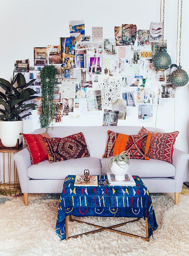 Awesome Bohemian Ethnic Living Room