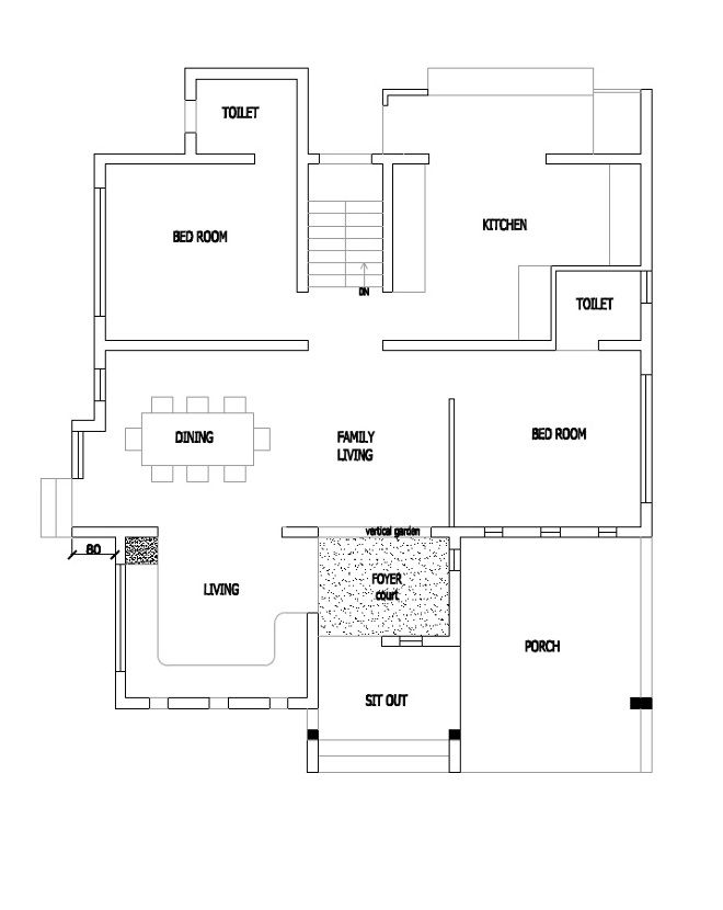 1500 Square Feet Contemporary Box Type 4 Bedroom Modern Home And Plan Home Pictures Easy Tips Budget House Plans Free House Plans Home Design Floor Plans