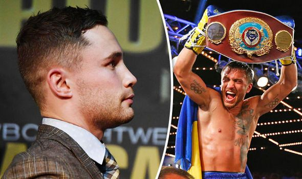 Carl Frampton wants Vasyl Lomachenko fight after Leo Santa Cruz