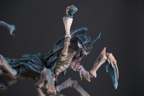 "Space bug resin model. By Alexander Silberberg ""SilverFx"""