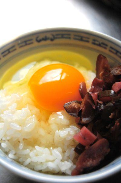 きざみ柴漬けの卵かけごはん by とらばたーさん | レシピブログ - 料理 ...