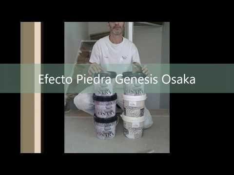 Aplicación de Efecto Piedra Genesis Osaka