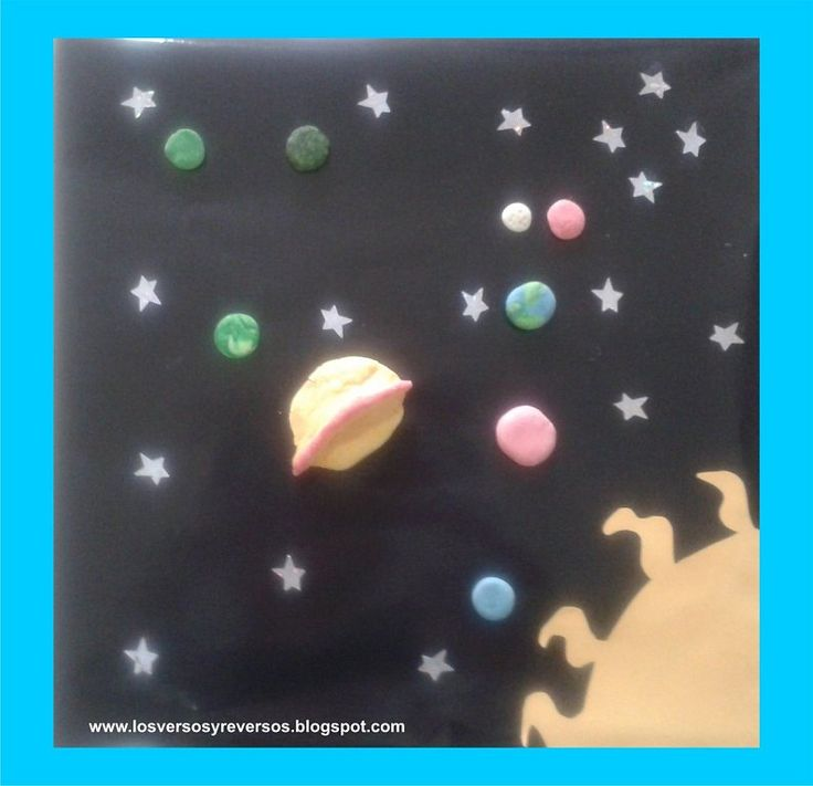 Divertido sistema solar para hacer con ni os aprender - Cosas de manualidades para ninos ...