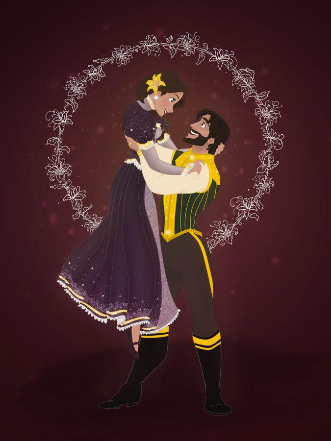 Дисней Принцессы и Принцы на Рождество | Пары дисней ...