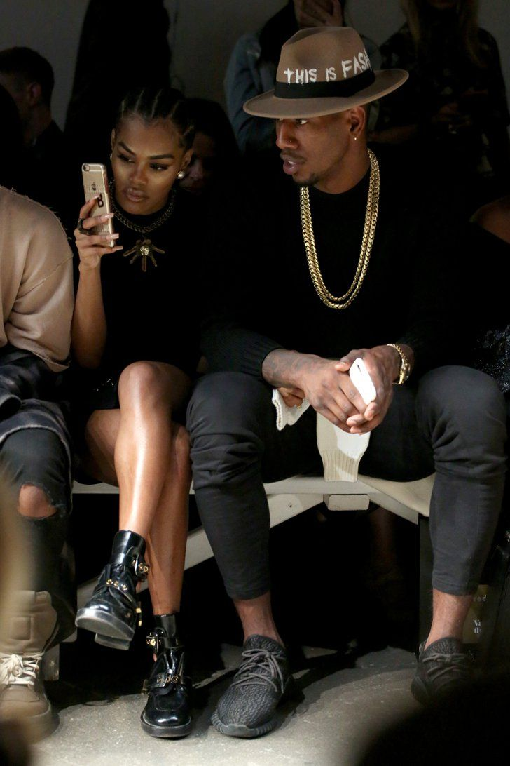 Teyana Taylor and Fiancé Iman Shumpert Steal the Spotlight at NYFW
