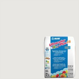 Mapei Ultracolor Plus Fa 25-Lb Avalanche Sanded/Unsanded Powder Grout