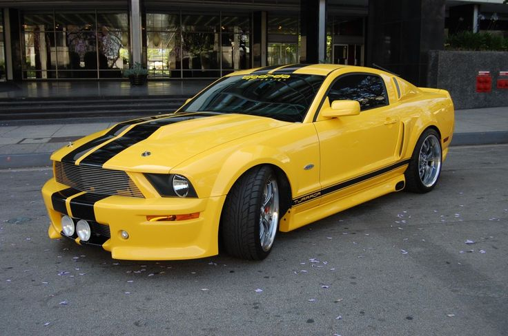Custom Ford Mustang GT 550R 2008, Designed by Tjaarda