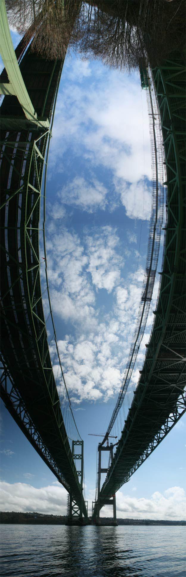 Tacoma Narrows Bridge    Location: Washington  Designer:  Leon Moisseiff