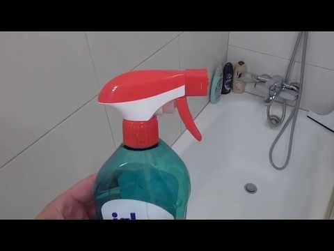 Genialer Trick: Duschkabine reinigen mit Klarspüler - Dusche im Bad ...