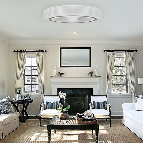 bladeless ceiling fan create total comfort year round for your home living room