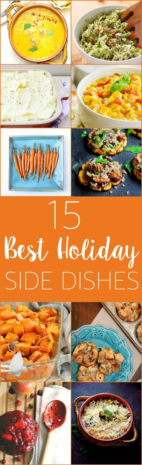 15 Best Ever Holiday Side Dishes http://www.thebusybaker.ca