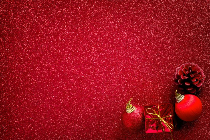 Red Christmas Background by Pinkomelet on @creativemarket
