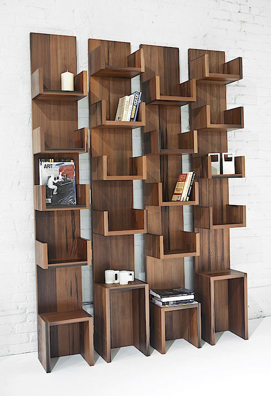 Leaning Shelves by Deger Cengiz - Envilu