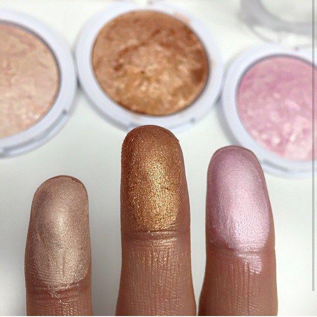 • Highlighters✨ Made by @makeupbyanna #makeup #makeupbyanna #MUA #_makeupvidss Web Instagram User » Collecto