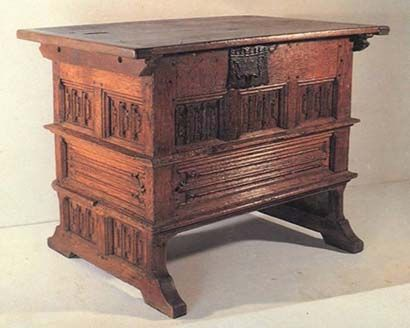 gothic rent table