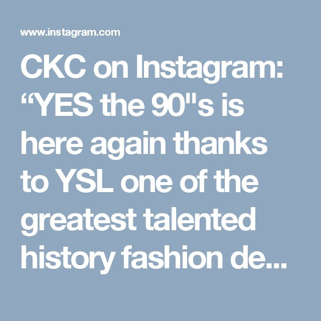 "CKC on Instagram: ""YES the 90""s is here again thanks to YSL one of the greatest talented history fashion designer 😍 Don't missed the look with this dress in your New Year's Eve 2017 🎉🎄❄️️. Stay chic be you be your self dress by Cristina Karekla Collection"""