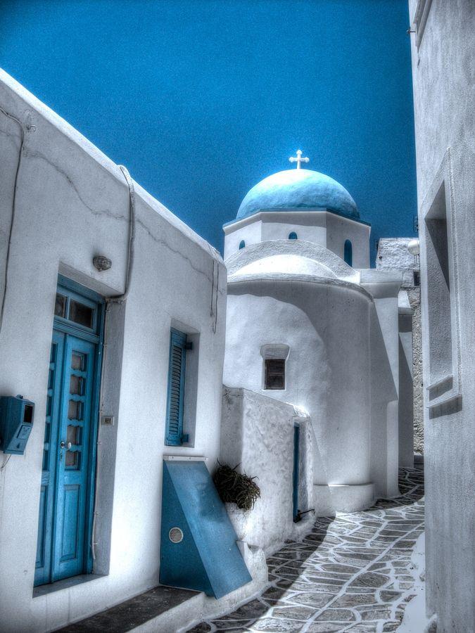 Oia Church, Santorini, Greece