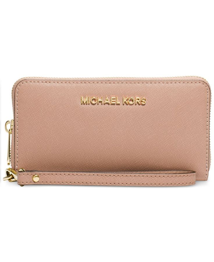 MICHAEL Michael Kors Jet Set Travel Large Coin Multifunction Wallet -  Handbags \u0026 Accessories - Macy\u0027s - designer handbags for sale, fashion  handbags on sale ...