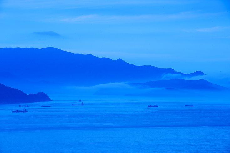 対岸は小豆島です。