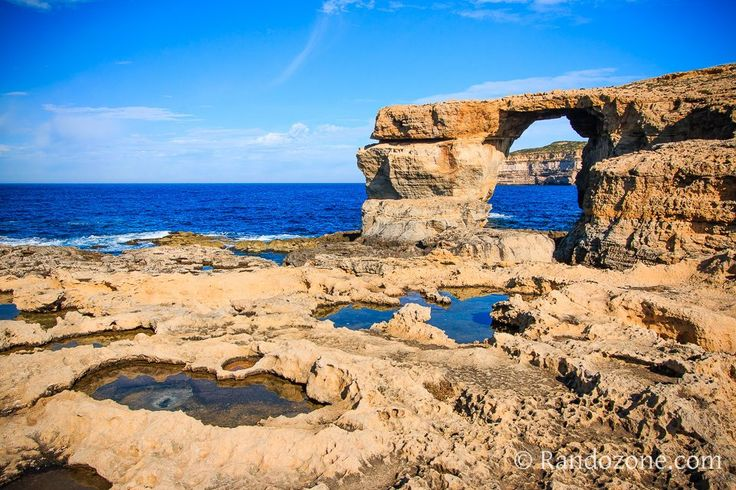 Fenêtre d'Azur. Ile de Malte.