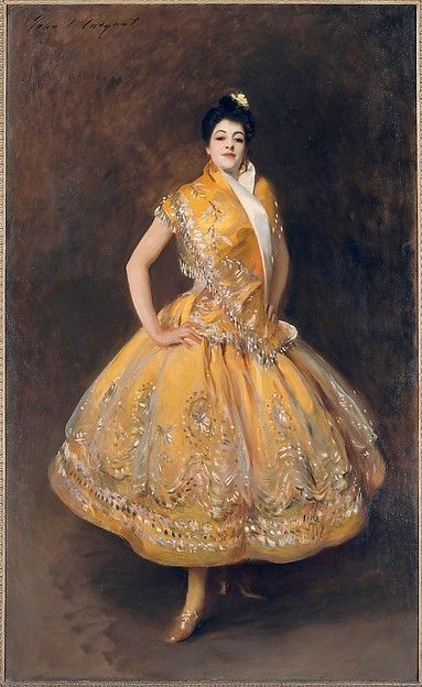 "John Singer Sargent (American, 1856–1925). La Carmencita, ca. 1890. Lent by Paris, Musée d'Orsay | This work is in our ""Sargent: Portraits of Artists and Friends,"" on view through October 4, 2015."