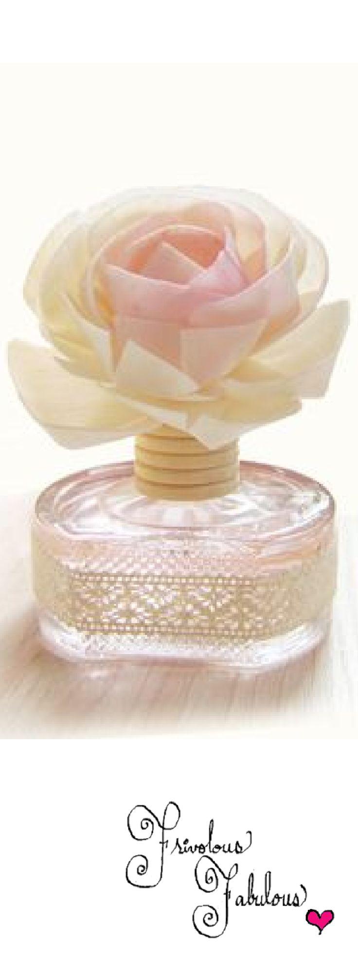 Frivolous Fabulous - Beautiful Rose Perfume Bottle