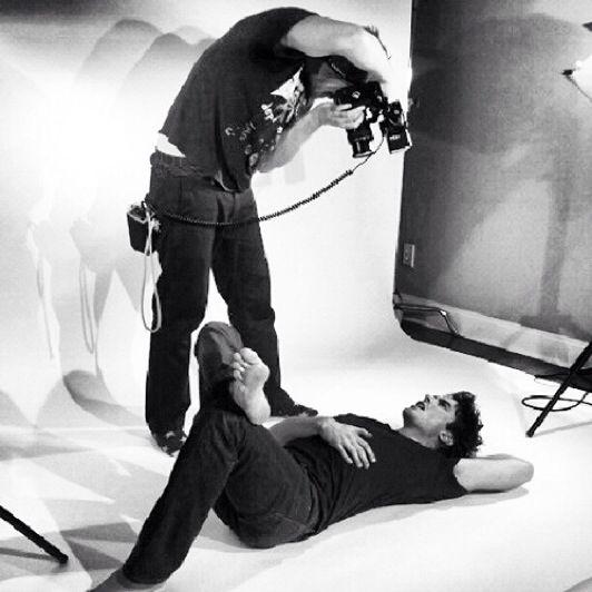 Ian Somerhalder, sessão de fotos