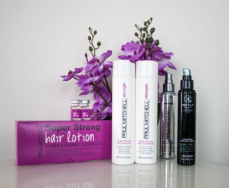 Must-have для всех блондинок: восстанавливающие ампулы Super Strong Hair Lotion, укрепляющие шампунь и кондиционер, спрей для кончиков волос и увлажняющий спрей для укладки
