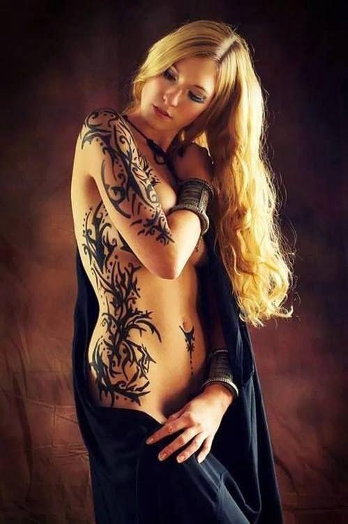 Tattoo blonde swan clip xxx