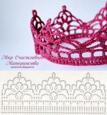 вяжем корону