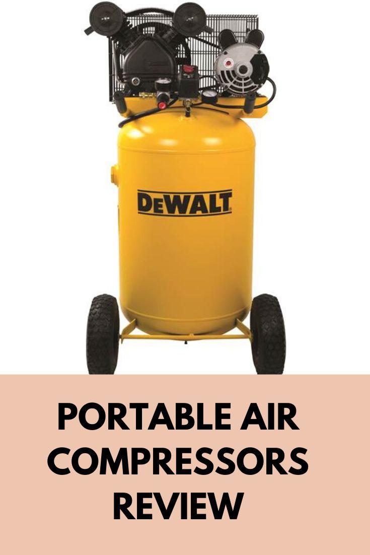 Portable Air Compressors Portable air compressor, Best
