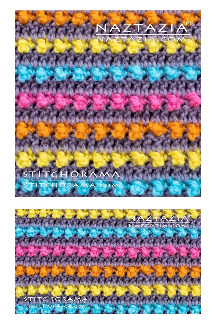 How to Crochet Bead Stitch – Yarn projects