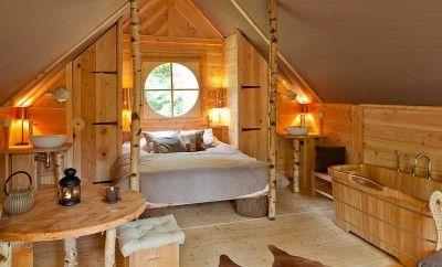 Les Cabanes de Rensiwez Location cabane ardennes belges - la Vie à Deux
